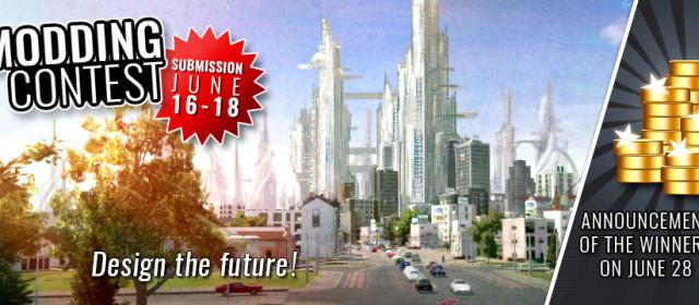 Modding contest «Design the future» announced