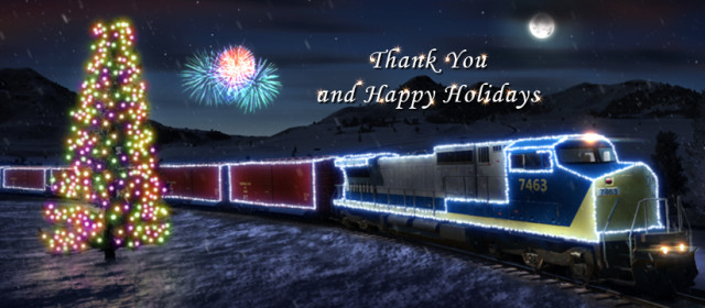 Vielen Dank und schöne Feiertage!